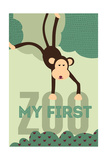 My First Zoo - Monkey - Green
