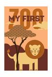 My First Zoo - Lion - Orange