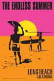 Long Beach  California - The Endless Summer - Original Movie Poster
