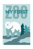 My First Zoo - Polar Bear - Blue