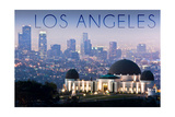 Los Angeles  California - Griffith Observatory and Skyline