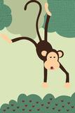 Simple Monkey - Green
