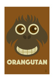 Zoo Faces - Orangutan