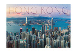 Hong Kong  China - Aerial View