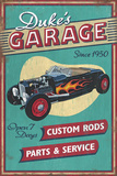 Dukes Garage - Vintage Sign