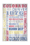 Colorado - Barnwood Typography