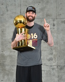 2016 NBA Finals - Post Game Trophy Shoot