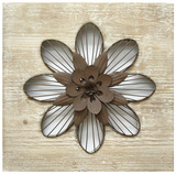 Rustic Lotus Flower III