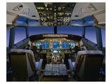 737 pilot-centered flight deck