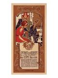 Centenaire de la Pile Voltaique Giclée premium par Adolfo Hohenstein