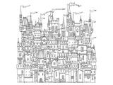 Castle & Fortress Coloring Art