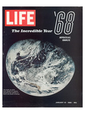 LIFE '68 the incredible year