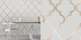 Marrakesh Bronze Grey Self-Adhesive Wallpaper