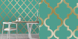 Marrakesh Honey Jade Self-Adhesive Wallpaper