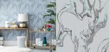 Marble Stream Self-Adhesive Wallpaper