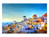 Oia village Santorini Greece