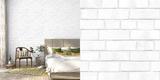 Brick White Textured Self-Adhesive Wallpaper *