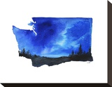 Washington State Watercolor