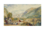 The Gallery of Modern British Artists 1834-1836 Watercolours  Rievaulx Abbey