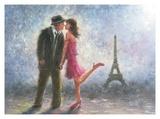 Paris Love Reproduction d'art par Vickie Wade