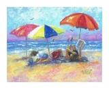At the Beach I Reproduction d'art par Vickie Wade