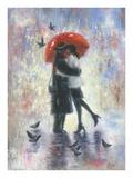 Kiss After Work Reproduction d'art par Vickie Wade