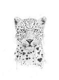 Lovely Leopard Reproduction d'art par Balazs Solti