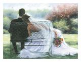 Forever Love Reproduction d'art par Vickie Wade