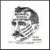 Advertisement for 'Woodbury's Preparations'  1910s