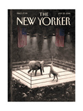 The New Yorker Cover - July 25  2016