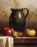 Green Pitcher  Heirlooms & Cloth