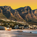 Awesome South Africa Collection Square - Camps Bay at Sunset II