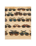 Five Rows of Sunglasses, 2000 Reproduction d'art par Wayne Thiebaud