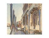 Gondola Moorings on the Grand Canal  1904/07