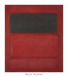 Black over Reds [Black on Red], 1957 Reproduction d'art par Mark Rothko
