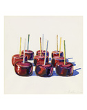 Nine Jelly Apples, 1964 Reproduction d'art par Wayne Thiebaud
