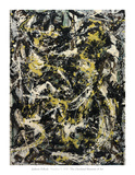 Number 5, 1950, 1950 Reproduction d'art par Jackson Pollock