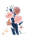 Watercolor Pink Poppies II