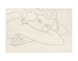 Young Woman with Face Buried in Arms, 1929 Reproduction d'art par Henri Matisse