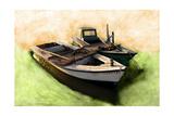 Boat VIII Reproduction d'art par Ynon Mabat