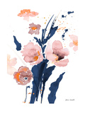 Watercolor Pink Poppies I