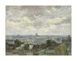 View of Paris  1886