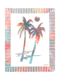 Watercolor Palms I