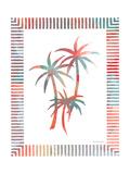 Watercolor Palms III