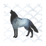 Animal Silhouettes V Reproduction d'art par Grace Popp