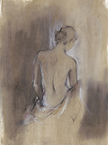 Contemporary Draped Figure II Reproduction d'art par Ethan Harper