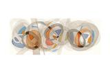 Sepia & Orange Circles
