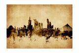 Warsaw Poland Skyline