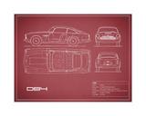 Aston DB4 -Maroon