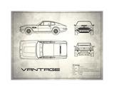Aston V8 Vantage White